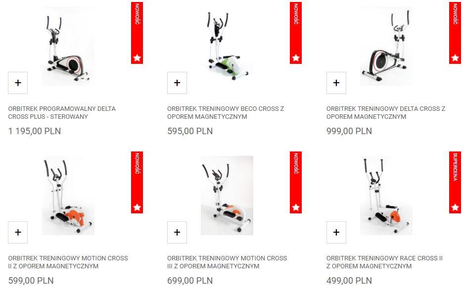 Orbitreki treningowe Laubr Sport